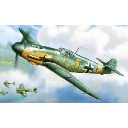 GERMAN MESSERSCHMITT BF-109 1/144
