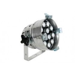 par 56 LEDlamp 12x1W Chrome