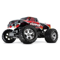 (orig.trx nr!) 1/10 Stampede monstertruck 2.4Ghz