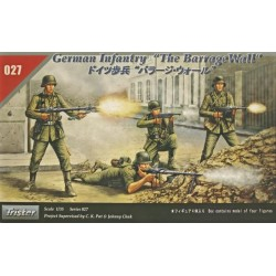 GERMAN INF. THE BARRAGE WALL 1/35
