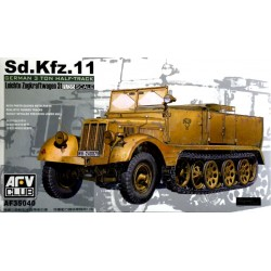 SD.KFZ.11 GERMAN HALFTRACK 1/35