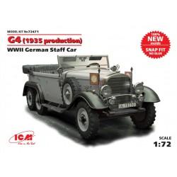 G4 WWII GERMAN STAFF CAR 1/72