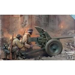 GERMAN PAK-36 w/CREW 1/72