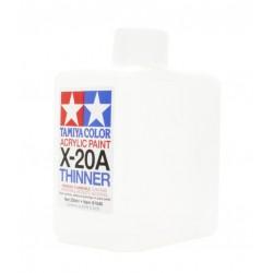 X-20A acryl thinner 250ml (BEPERKTE AANTALLEN/DECEMBER 2019 VOLGENDE ZENDING)