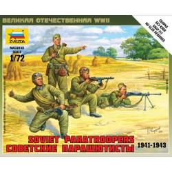WWII SOVIET PARA'S 1/72