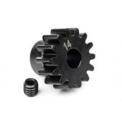 14t pinion M1 5mm shaft