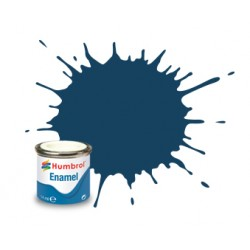 Humbrol Enamel 104 oxfordblauw 14ml.