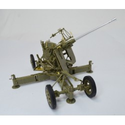 British version of bofors 40mm MK III AA Gun 1/35