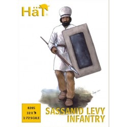 SASSANID LEVY INFANTRY 1/72