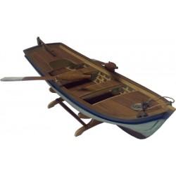 """Houten visbootje """"Sandal"""" 35cm 1/12"""