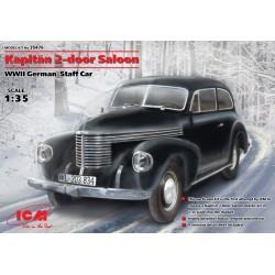 WWII KAPITAN 2-DOOR SALOON GERMAN STAFF CAR 1/35