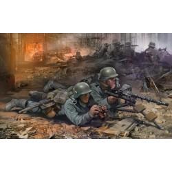 WWII GERMAN MG34 GUN 1/72