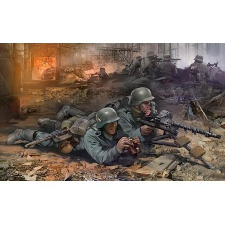 WWII GERMAN MG34 GUN 1/72 SNAP KIT