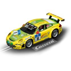 Digitale slotrace auto Porsche GT3 RSR nr 18 1/32