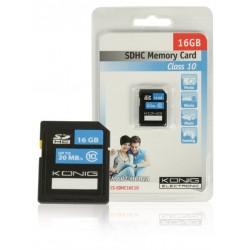 SDHC-geheugenkaart Class 10 16GB