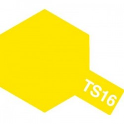 Acryl spuitbus plastics yellow TS-16 100ml.