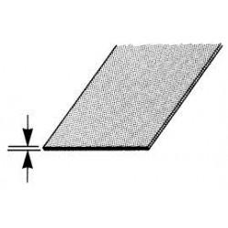 aluplaat 20x40 cm 0,3 mm