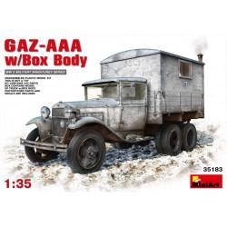GAZ-AAA w/SHELTER 1/35