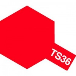 Acryl spuitbus plastics fluor red TS-36 100ml.
