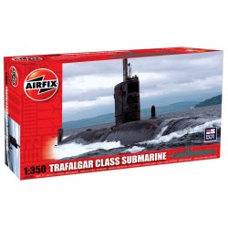TRAFALGAR GLASS SUBMARINE 1/350