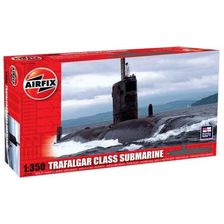 TRAFALGAR GLASS SUBMARINE 1/350