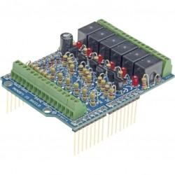 Arduino I/O shield 6ch.