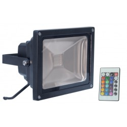 LED floodlamp RGB 20W 230V
