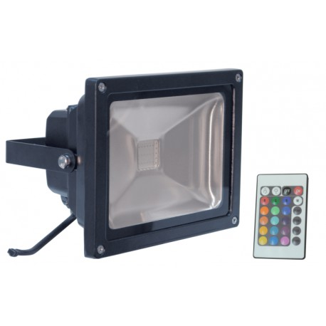 LED floodlamp RGB 20W 230V