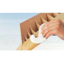 Hoekschraper voor hout