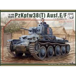 PANDA PZKPFW38(t) AUSF.E/F 1/16