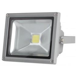 20W LED buitenlamp grijs WW