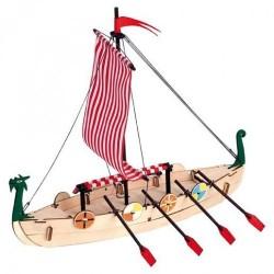 Houtbouw geschenkset Viking 26cm.