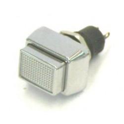 puls-drukschak 250V1A 1x maak chrome gat-10mm
