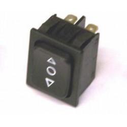 Tuimels 250V10A 2-0-2 zwart