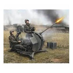 GERMAN 20-MM ANTI AIRCRAFT GUN FLAK-38 WITH CREW 1/72