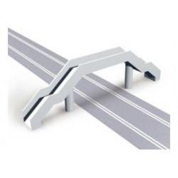 Voetgangersbrug 47x17,5x10 cm 1/32