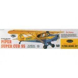 Houten bouwmodel van de Piper Super Cub 95 60cm
