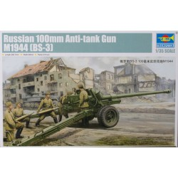 RUSSIAN 100MM ANTI TANK GUN M1944 1/35