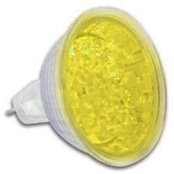 12v reflector ledlamp geel