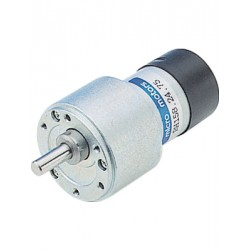Vertragingsmotor 12V 15:1 39x63mm as-6mm
