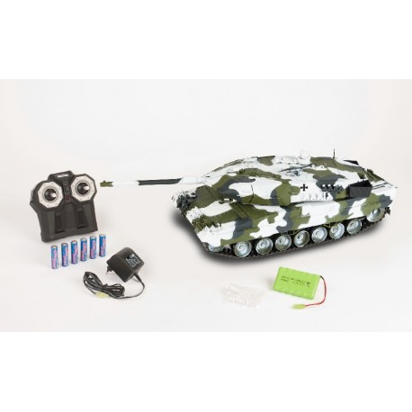 RC tank Leopard 2A6 Winter Tarn Look 1/16  2,4GHz