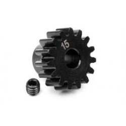 15t pinion M1 5mm shaft