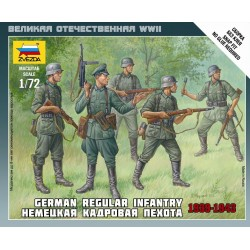 WWII GERMAN INFANTRY 39-43 1/72