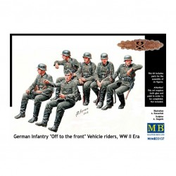 GERMAN INFANTRY VEHICLE RIDERS WWII 1/32