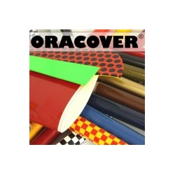 Oracover strijkfolie fluorgeel per meter (60cm breed)