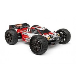 1/8  clear truggy body o.a. Trophy