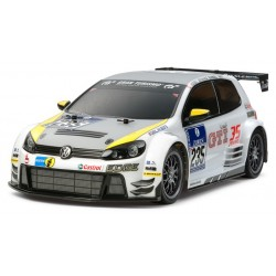1/10 TT-01E VW Golf 24 KIT-versie