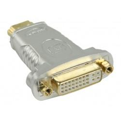 HDMI M - DVI F verloop