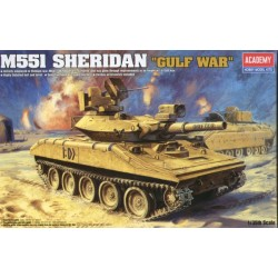 SHERIDAN M55I LIGHT TANK GULF WAR 1/35