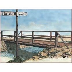 WOODEN BRIDGE 1/35